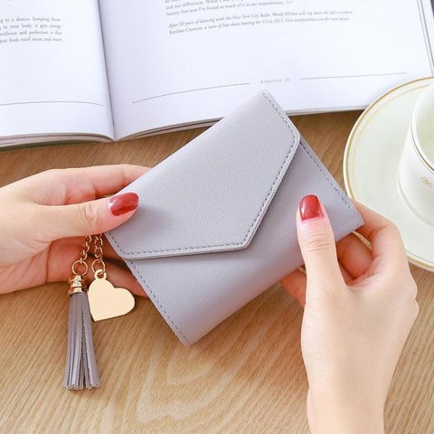 2018 Fashion Womens Wallets Simple Zipper Purses Black White Gray White Long Section Clutch Wallet Soft PU Leather Money Bag
