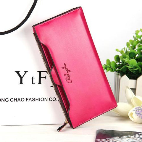 2018 new leather Women Wallet Portable Multifunction Long Wallets,hot female Change Purse,lady coin
