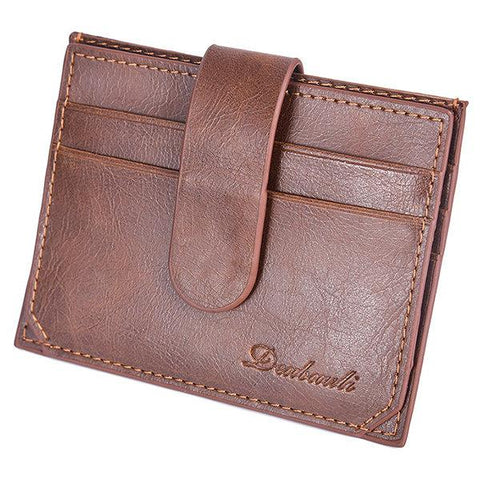 Multi-Card Slots Coin Bag Card Wallet For Men