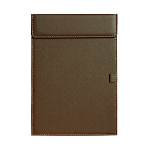 Office Magnetic Clipboard Business Meeting Writing Pad PU Leather Letter Size Conference Pad Hardboard Resume Paper Document Organizer Holder Profile Drawing Clip Board Desk Blotter Mat with Pen Loop