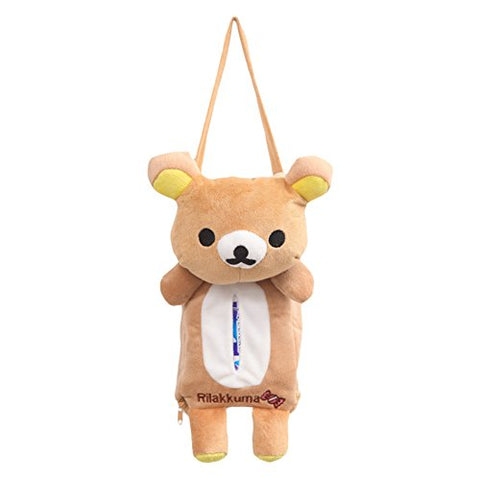Xiaolanwelc@ 4 Colors Cute Animal Car Tissue Holder Back Hanging Tissue Box Covers Napkin Paper Towel Box Holder Case Paper Towel Holder (Bear)