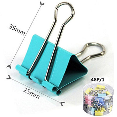 Binder Clips-Colorful-Paper Clamping Handy