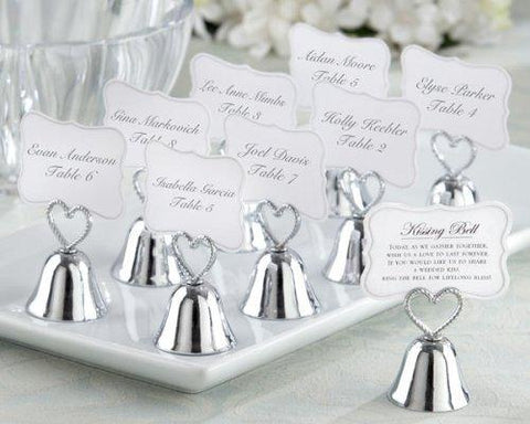 """Kissing Bell"" Place Card-Photo Holder (Set of 24)"