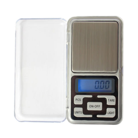 Whitelotous 200g/0.01g Mini Electronic Digital Scale Portable LCD Display Jewelry Scale
