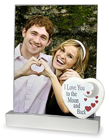 I Love You to the Moon and Back Picture Frame(2359)