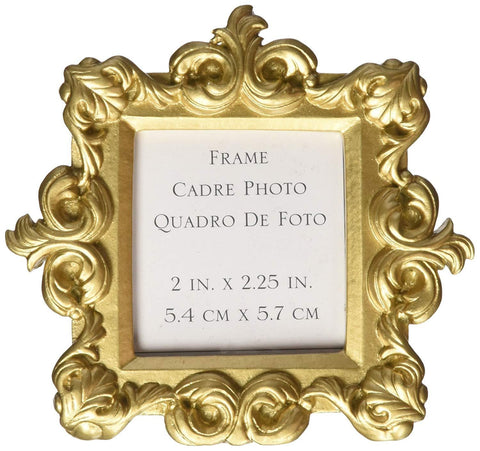 """Royale"" Gold Baroque Place Card Holder / Photo Holder Favor (Set of 48)"