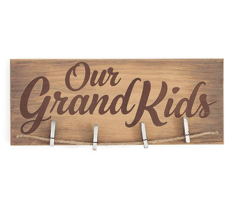 """Our Grandkids"" Photo Holder"