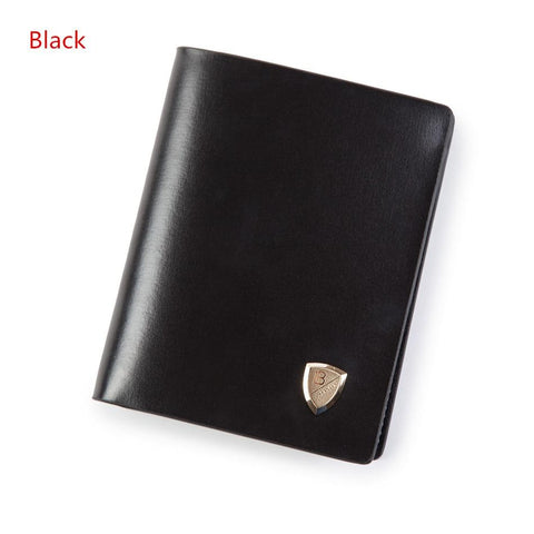 2017 Luxury Men Wallets Leather Male Money Purses Famous Brand New Designer Short Purse With Card Holder Dollar Price