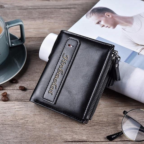 Brand PU Leather Wallet Men PORTFOLIO Man Male Small Portomonee Vallet With Coin Purse Pockets Slim Fashion wallet Mini Walets