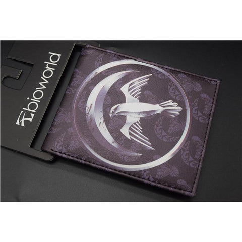 Game of Thrones PU Wallet/Purse Printed w-Symbols of House Arryn/Baratheon/Greyjoy/Lannister/Martell/Tully/Tyrell/Targaryen.