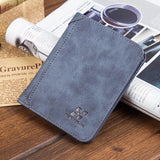 2017 Vintage Brand Male Leather Wallets Shor Designer Walle Purse Man Card Holder Wale for Men Free Shipping