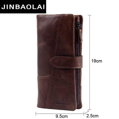 100% Top Quality Natural Genuine Leather Men Wallets Fashion Splice Dollar Purse Carteira Masculina Mens Purse Wallets