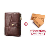 100% Female Small Walet Portomonee Lady Mini Card Holder Vallet Female Coin Purse Red Hasp
