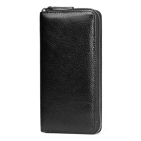 2017 Famous Brand Men Wallets Genuine Leather Coin Purse Male Cuzdan Clutch Long Business Wale Portomonee Magic Perse