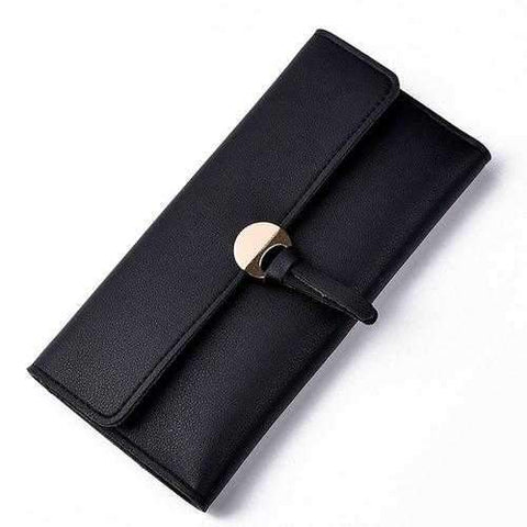 fashion Wallet Women sweet color PU Leather