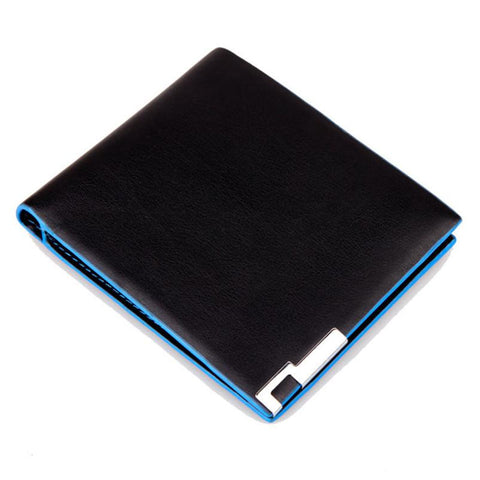 2017 Most Popular Men Stylish Bifold Business Leather Wallet Card Holder Coin Wallet Purse Male High Grade Purse Wholesale A9