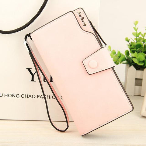 Baellerry Brand Wallet Women top quality leather wallet female multifunction purse long big capacity card holders Purse