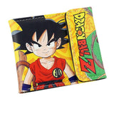 2016 Short Wallets Cartoon DragonBall Super saiyan cool wallet Kakarotto Monkey King Anime Fans Purse Collection