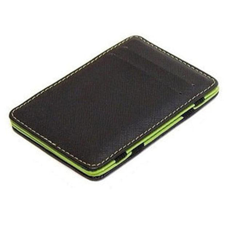 KUDIAN BEAR Minimalist Men Wallet Rfid Slim Card Organizer Purse Magic carteras Minimalista-BID222 PM49