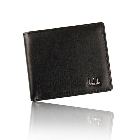 2018 Hot Sale Fashion Men Wallets Quality Soft PU Leather Wallet Black Coffee Casual Business Card Holder Purse Free shipping