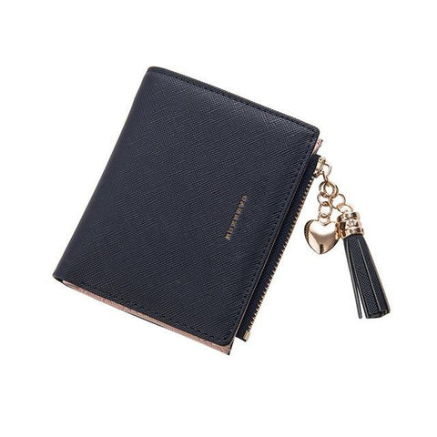 Short Leather Women Wallets