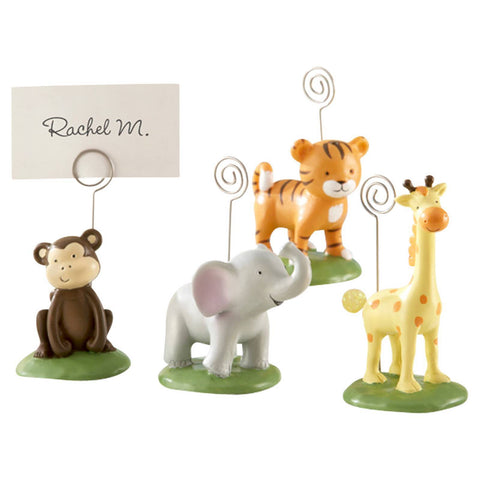 "12ct ""Born To Be Wild"" Animal Place Card/Photo Holders"