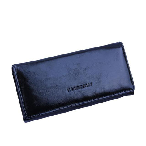 Leather Hasp Wallet