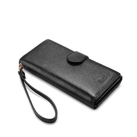 Genuine Leather Folding Wallet