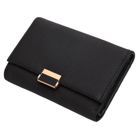 Female Leather Zipper Wallet
