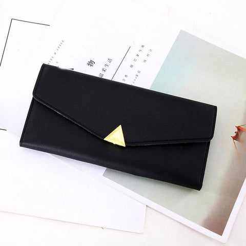 Leather Cute Long Wallet