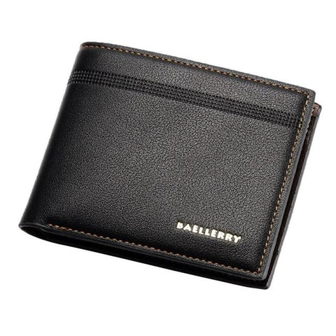 Fashion Leather Billfold Purse Wallet