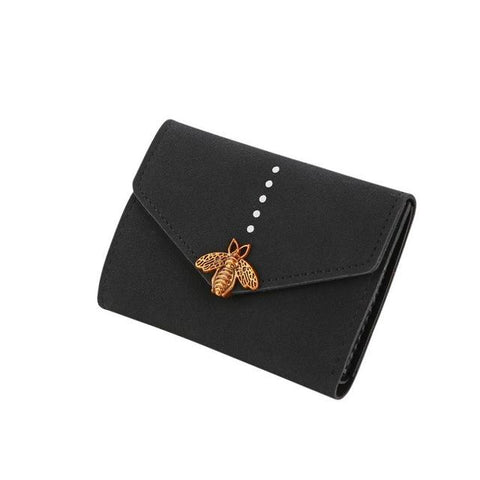 Luxury Brand Hasp Short Wallet