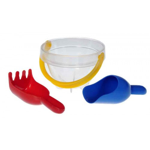 Junior Sand Set / Baby Bucket Transparent Set (4pcs)