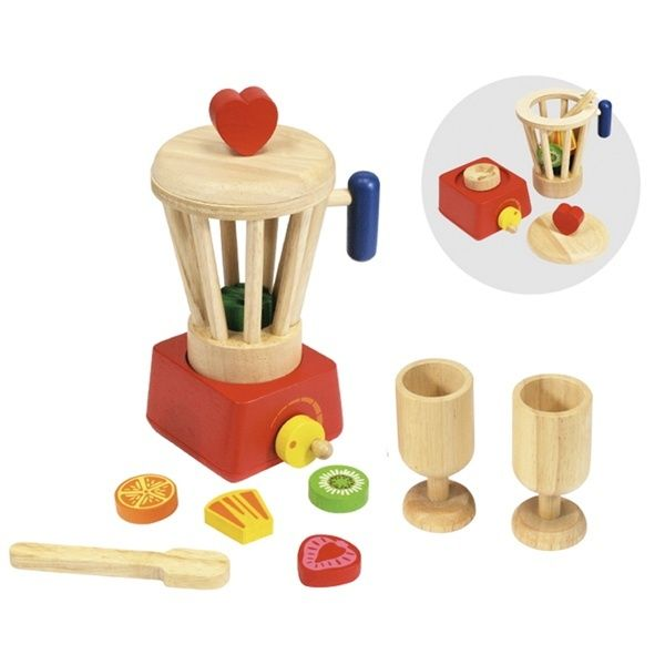 Wooden Blender Set
