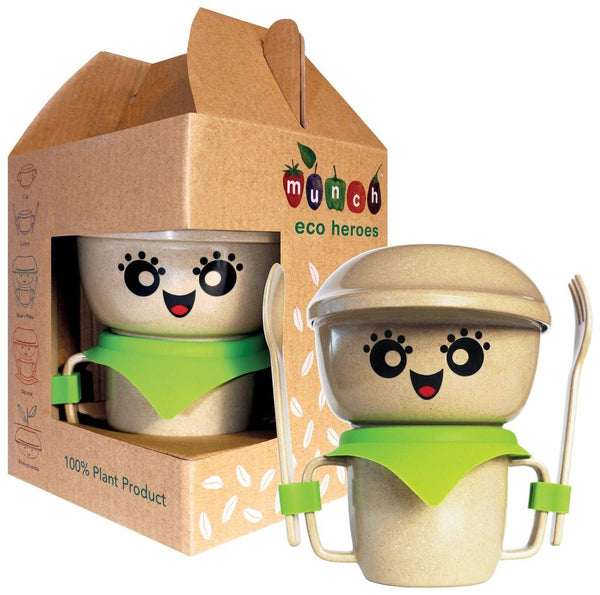 Munch Eco Hero Dinner Set