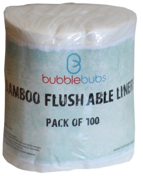 Bubblebubs Disposable Nappy Liners