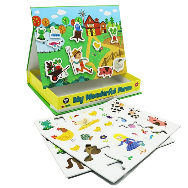 Magnetic Educational Activity Set