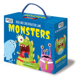 Book and Memory Game Set - Monsters and Fairies