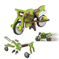 Speed Drifter Wooden Motorcycle Building Kit