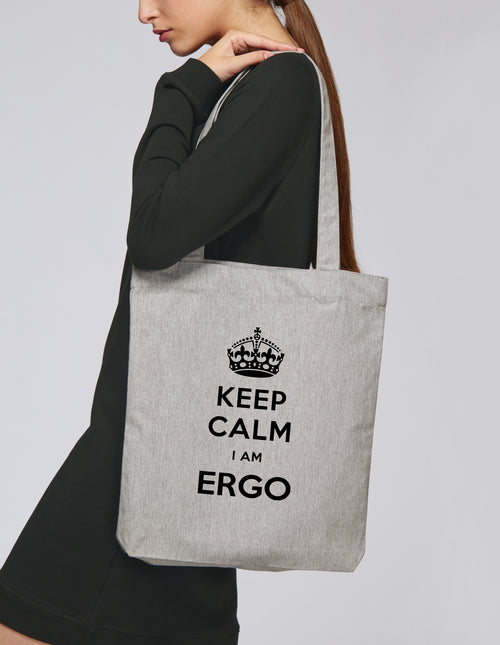 Tote bag Keep calm I'm Ergo - Comptoir des Ergos