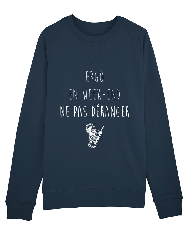 Sweat Ergo en week-end H - Comptoir des Ergos
