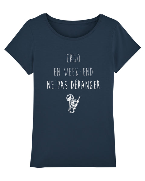 T-shirt Ergo en week-end - Comptoir des Ergos