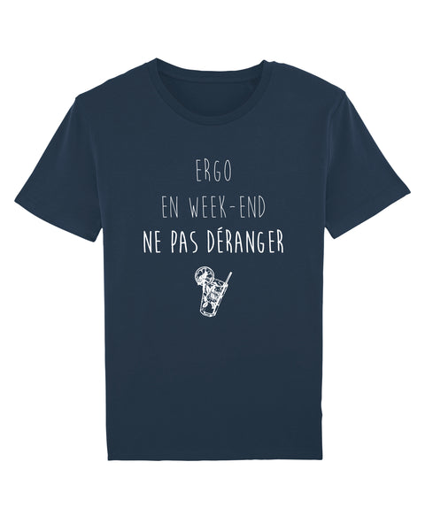 T-shirt Ergo en week-end H - Comptoir des Ergos