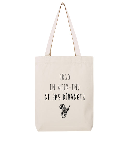 Tote bag Ergo en week-end - Comptoir des Ergos