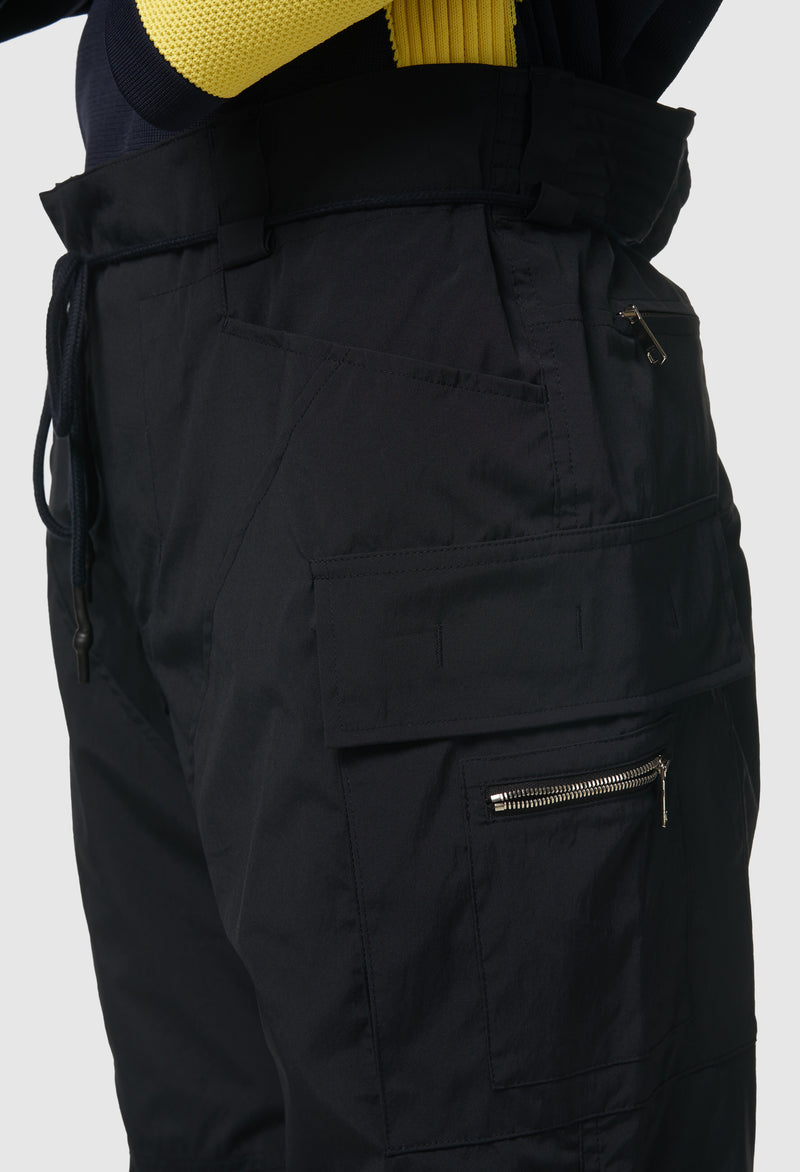 Laced Strapped Cargo in Navy