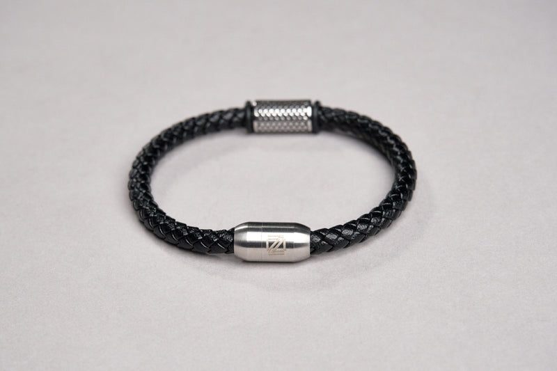 Zensai Leather Rope Bracelet #1