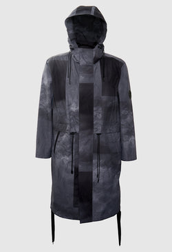 Tech Grey Breeze Parka