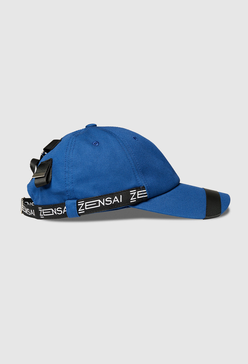 Cypher Patched Cap in Royal Blue