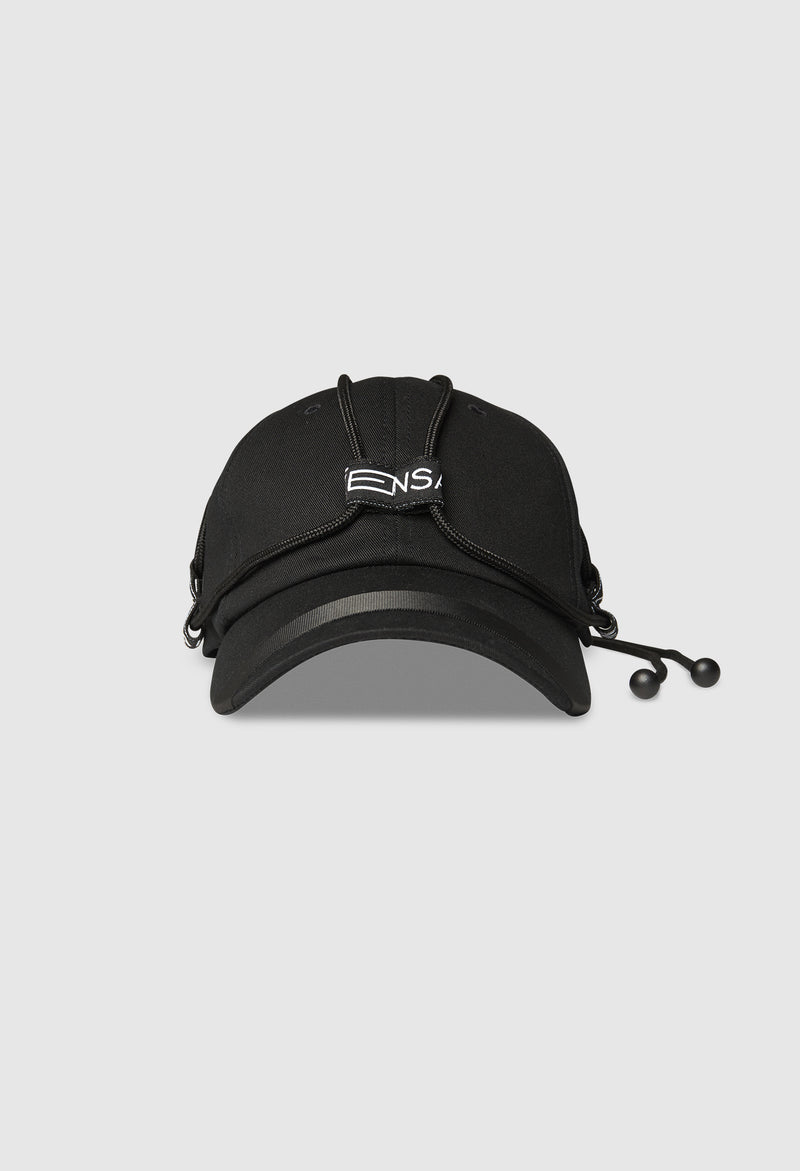 NEO Tech Braided Cap in Black