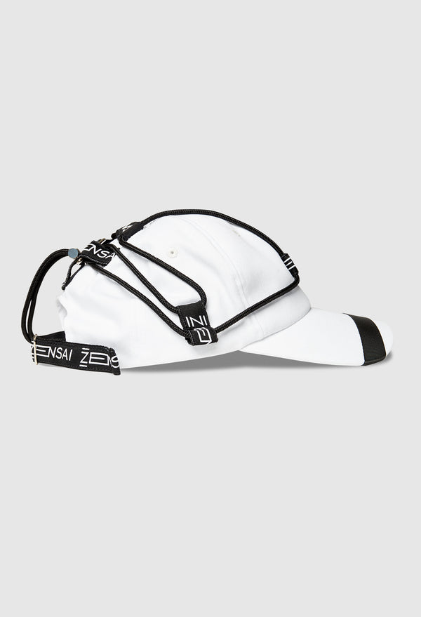 NEO Tech Braided Cap in White